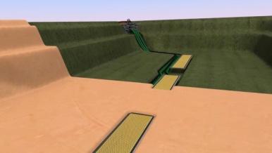 Klares Wasser im Teich - Automatische Teichreinigung
