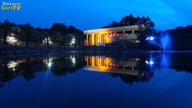 Nachtansicht vom Tempelteich