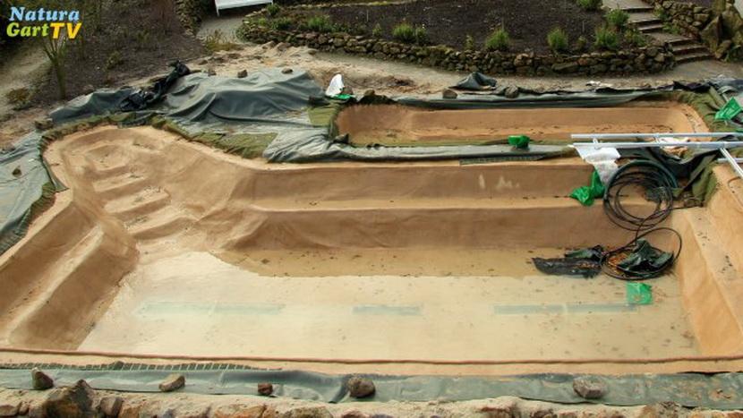 schwimmteichbau teil 2 | teichbau-serie, Hause und Garten