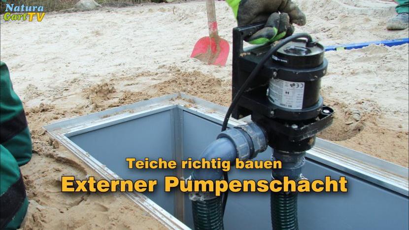 Pumpenschacht Ausserhalb Des Teiches Naturagart Tv So Bauen Sie Eine 230 Volt Pumpe Ein